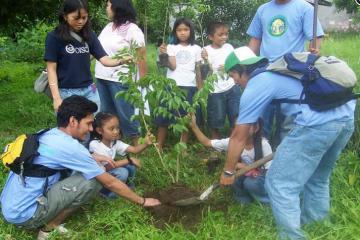 Participating in UN`s Greenwave Campaign.