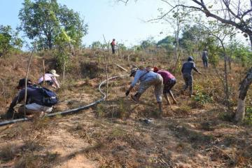 The local communities` engagement and commitment towards the project guarantee project sustainability beyond funding.